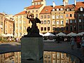 Warszawa - Warsaw - Varsovie - Warschau - Varsovia - Varsó - Варшава **The Mermaid of Warsaw** - panoramio.jpg