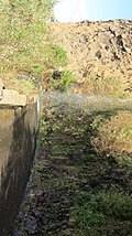 Waterfall over road, Madeira - Jan 2012 - 02.jpg
