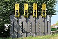 Weener - Am Erholungsgebiet - Sportboothafen - Schleusendenkmal 02 ies.jpg