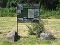 Wehningen Wasserschloss Schlosspark Infotafel IMG 4112 16.jpg