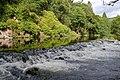 Weir on the River Garry - geograph.org.uk - 488549.jpg