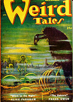 Weird Tales cover image for November 1952