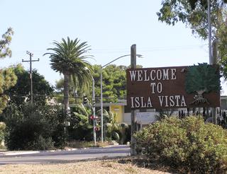 Isla Vista, California census-designated place in California, United States