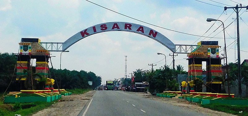 Berkas:Welcome Gate to City of Kisaran.jpg