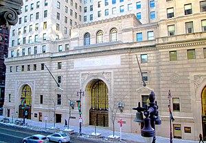 Wells Fargo Building (Philadelphia) - Image: Wells Fargo Building Broad Street Philadelphia