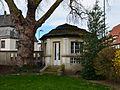 Werl, Steinerstraße 48, Gartenpavillon der denkmalgeschützten Villa Wulf.jpg