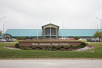 West Johnston High School - Image: West Johnston High School
