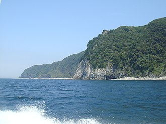 Izu Peninsula - West coast of Izu.