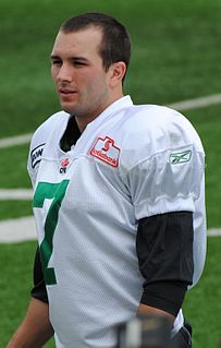 Player of American and Canadian football