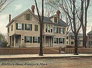 Whittier's Home, Amesbury, MA