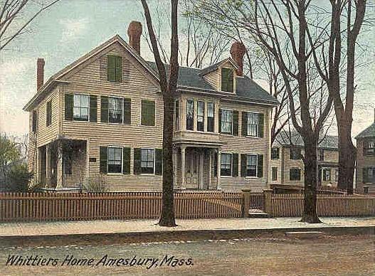 Whittier's Home, Amesbury, MA