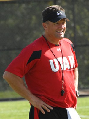 Kyle Whittingham - Image: Whittingham at practice