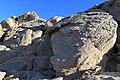 Wietrzenie granitów na pustyni Arabskiej - panoramio.jpg