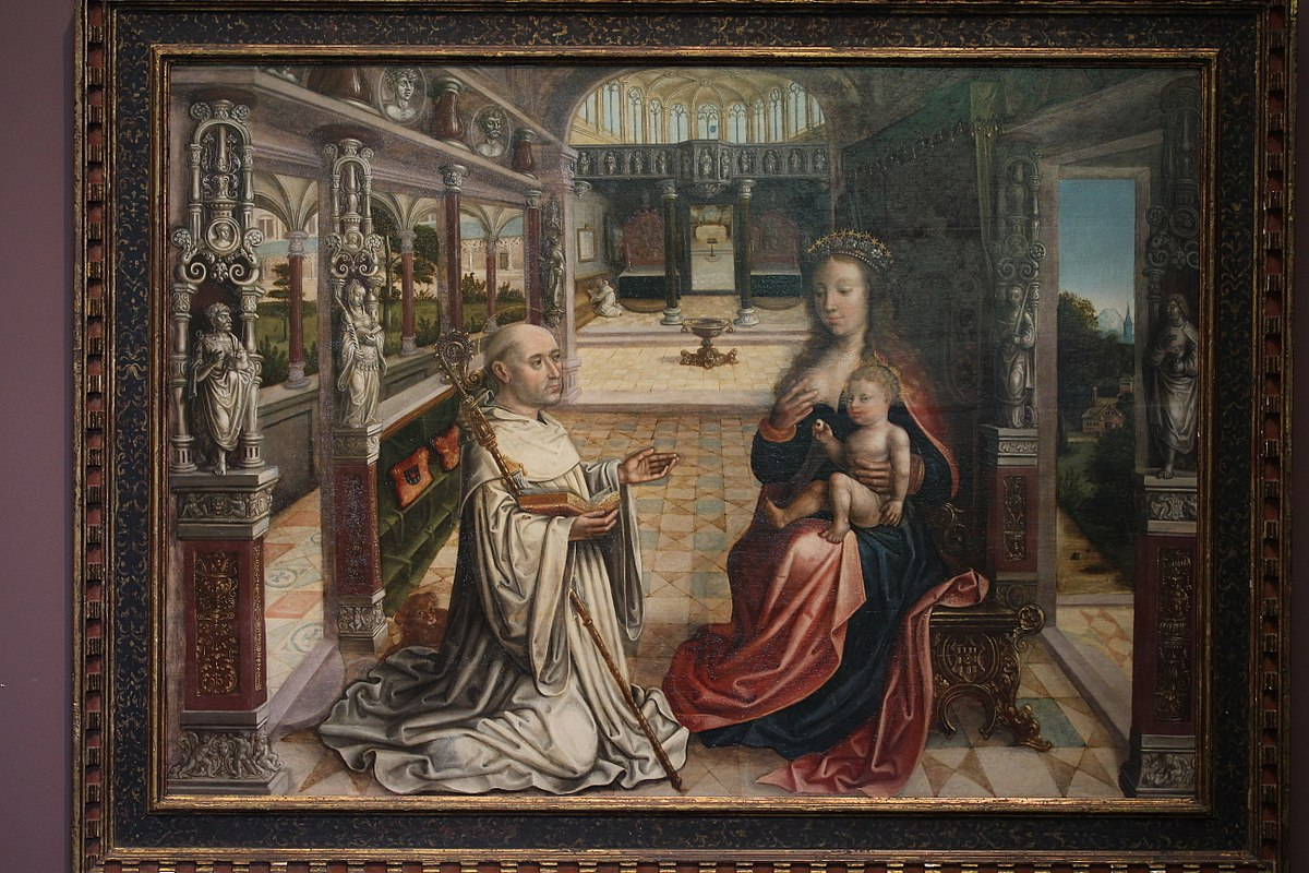 The Lactation Of Saint Bernard Of Clairvaux Wikidata