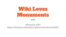 Wiki Loves Monuments @ Wikimania 2017.pdf