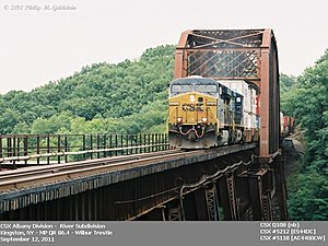 River Subdivision (CSX Transportation) - Image: Wilbernb 3cr