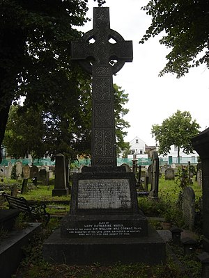 William MacCormac - Funerary monument, Kensal Green Cemetery, London