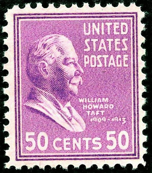 William H Taft 1938 Issue-50c