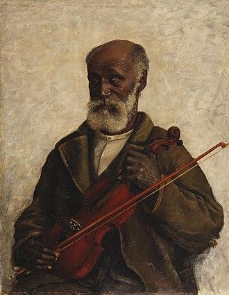 William Henry Huddle - Image: William Henry Huddle Old Slave (c.1889)