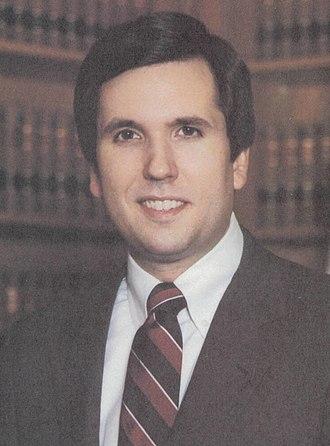 Missouri gubernatorial election, 1992 - Image: William L. Webster (cropped)