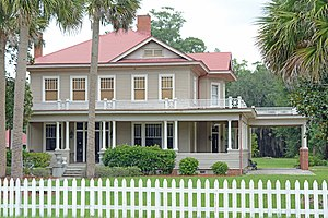 National Register of Historic Places listings in Charlton County, Georgia - Image: William Mizell Sr house, Folkston, GA, US