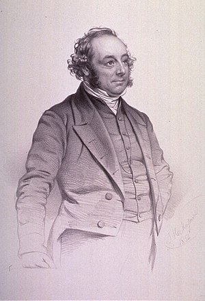 William Sands Cox - William Sands Cox, drawing by Thomas Herbert Maguire