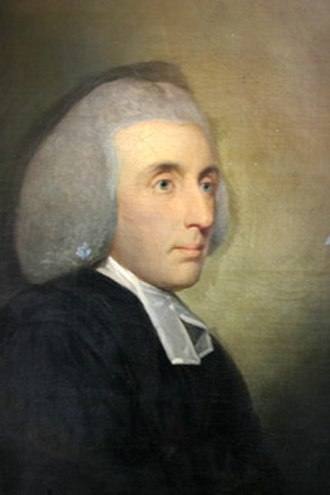 William Small - Portrait of Small by Tilly Kettle, c.1765