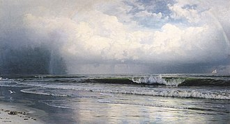 William Trost Richards - Image: William Trost Richards The Rainbow (1890)