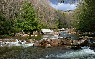 Williams River (West Virginia) - Williams River in the Monongahela National Forest.