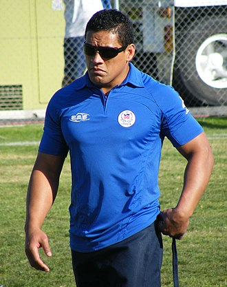 Willie Talau - Talau with Samoa at the 2008 World Cup