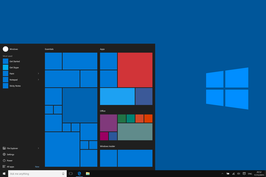 Windows 10 met start menu