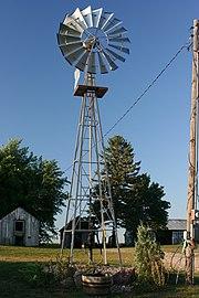 Windpump in a farm
