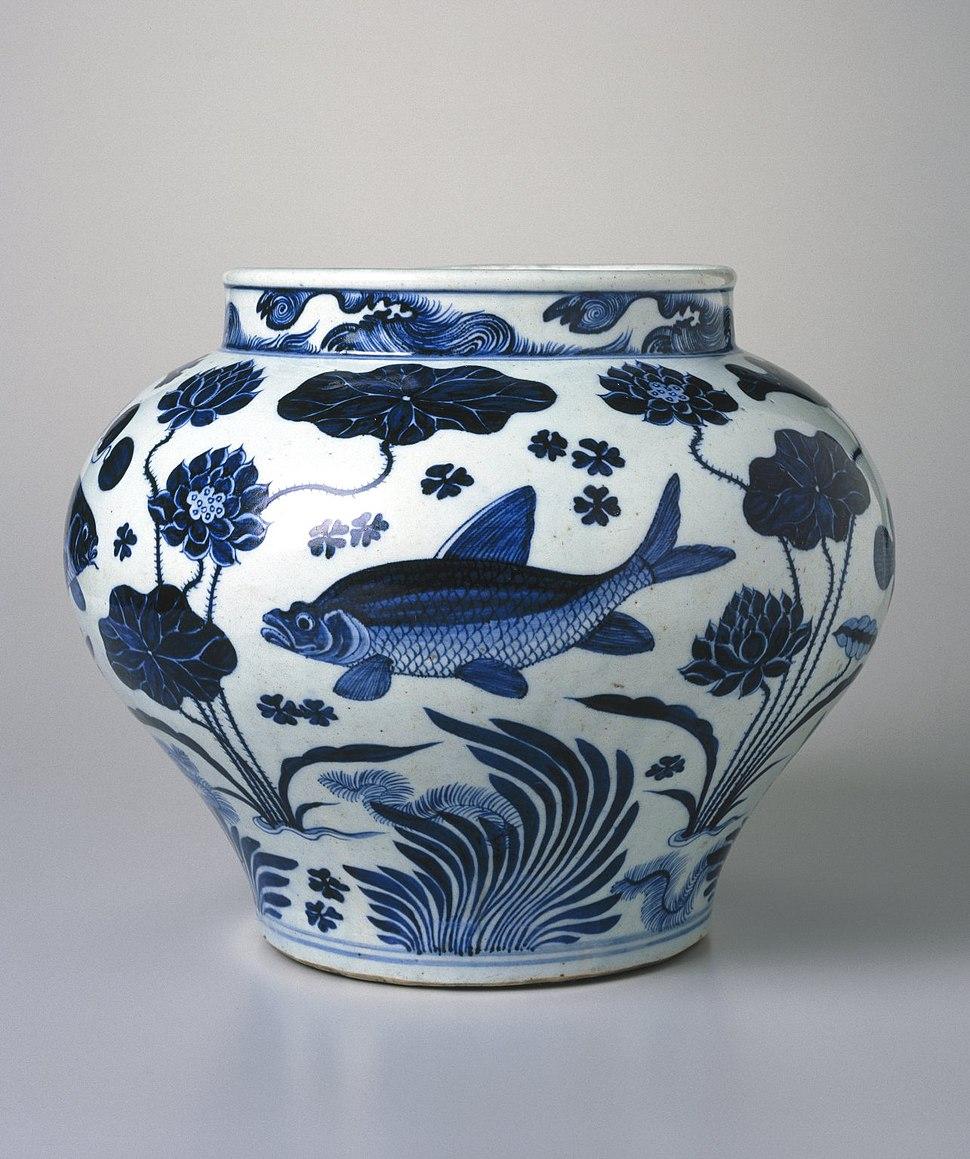 Wine Jar with Fish and Aquatic Plants, 52.87.1