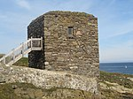 Wine Tower, Kinnaird's Head 04.JPG