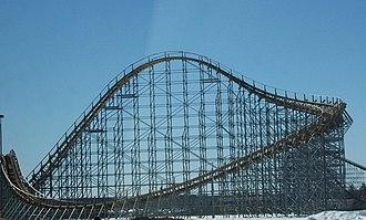 Golden Ticket Award for Best New Ride - Image: Wisconsin Dells Wisconsin Rollercoaster