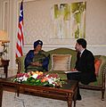 With Liberian President Helen Johnson-Sirleaf in Kuwait.jpg