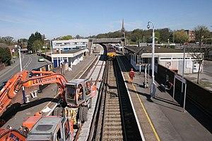 Wokingham railway station - Image: Wokingham railway station 1