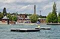 Wollishofen - Zürichsee in Zürich - Rote Fabrik - Cassiopeiasteg 2015-05-06 13-51-20.JPG