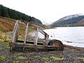 Wooden structure, St Mary's Loch - geograph.org.uk - 282495.jpg
