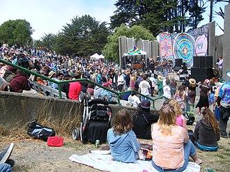 John McLaren Park - Image: Workingman's Dead Jerry Day 2008 San Francisco (2879167171)