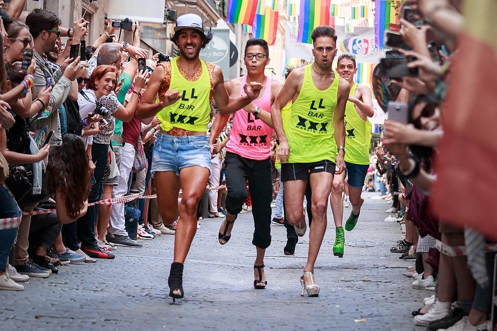 WorldPride 2017 - Madrid - Carrera de tacones - 170629 180856