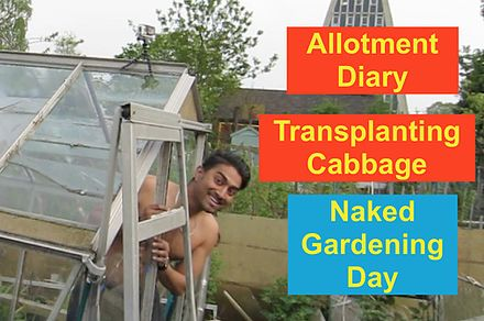 A graphic for a gardening video celebrating World Naked Gardening Day in 2016. World Naked Gardening Day.jpg