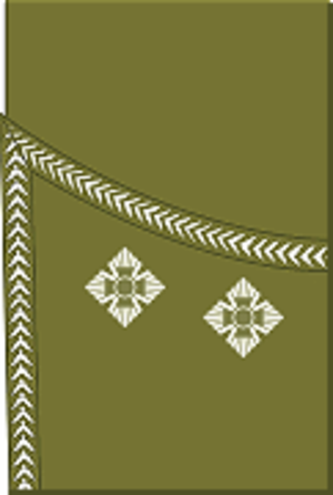 Lieutenant (British Army and Royal Marines) - Image: World War I British Army lieutenant's rank insignia (sleeve, scottish pattern)