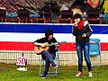 Wu-Ling Senior High School Guitar Club Members Performancing 20130302b.JPG