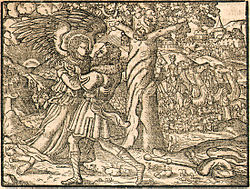 Jacob wrestling with the angel - Wikipedia