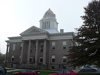 Wytheville, Virginia - The courthouse in Wytheville, Virginia.