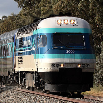Commonwealth Engineering - CountryLink XPT in February 2011