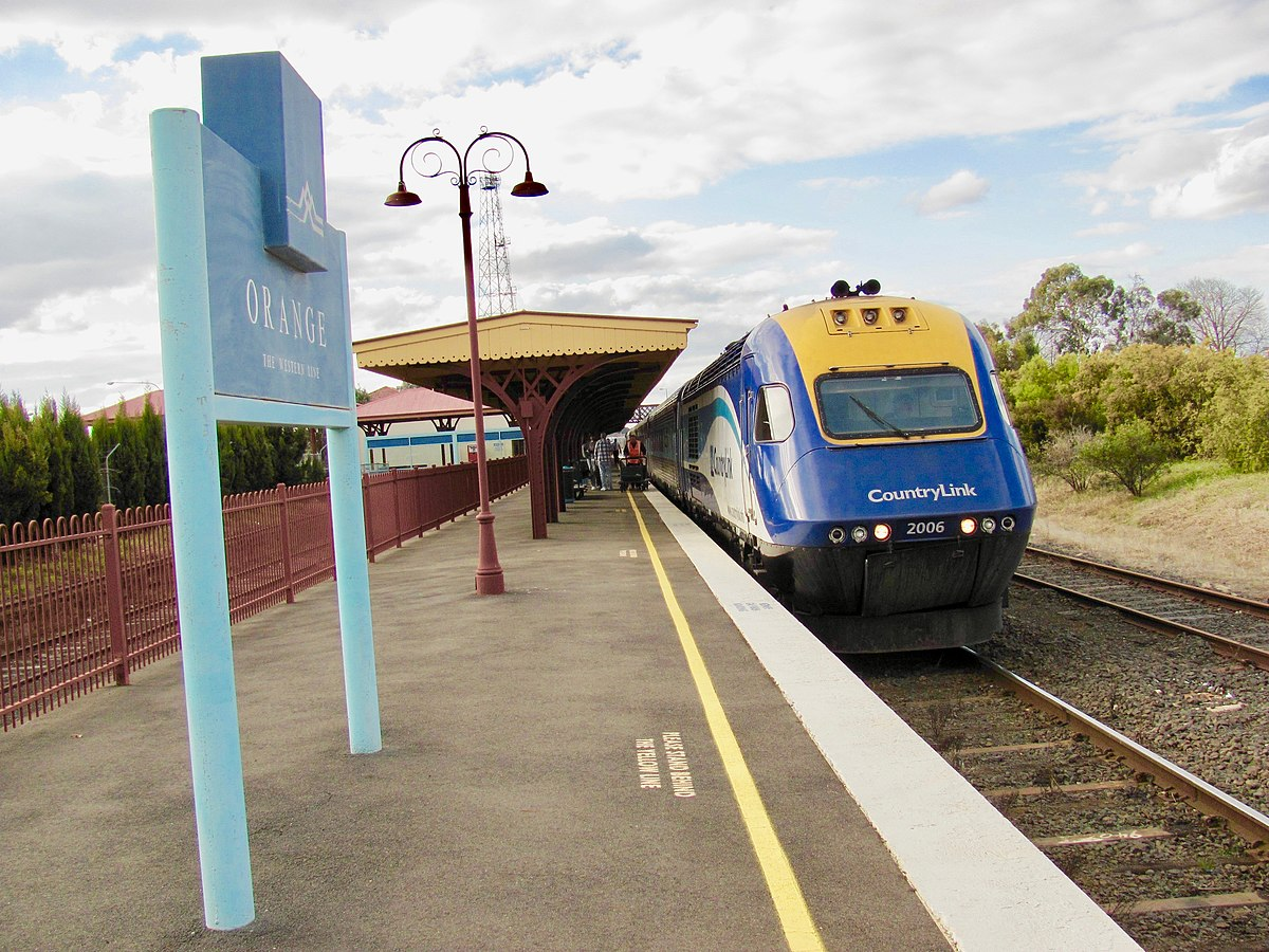train tracks and orange1 - photo #49