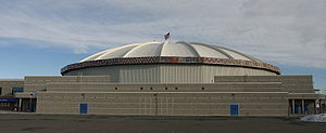 Yakima, Washington - The Sun Dome was home to the Warriors and Sun Kings.