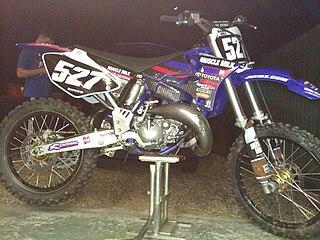 Yamaha YZ125 motorcycle